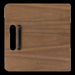 Drewniana podkładka na menu...