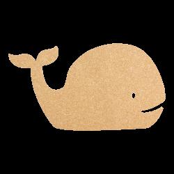 Tablica korkowa wieloryb