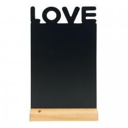 Tablica kredowa LOVE z...